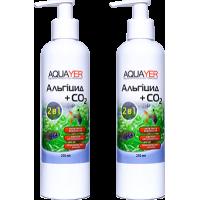 2 шт Aquayer Альгіцид+СО2 250 мл від водоростей
