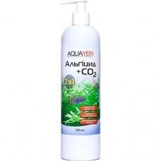 Aquayer Альгицид+СО2 500 мл для борьбы с водорослями