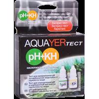 Aquayer pH+KH - набор на кислотность и карбонатную жесткость