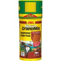 Корм JBL NovoGranoMix 250 мл в гранулах для аквариумных рыб с дозатором