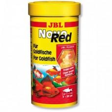Корм JBL Novo Red хлопья для золотых рыбок 250 мл 30200