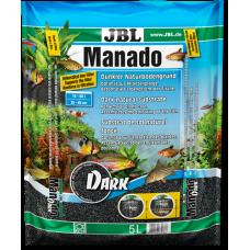 JBL Manado Dark 5 л грунт для аквариумов с растениями 67036