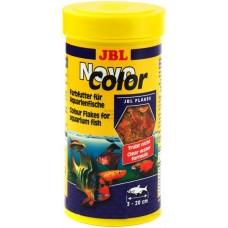 Корм JBL Novo Color хлопья для усиления окраски рыб 250 мл 30157