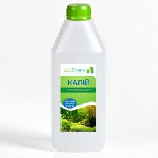 ECOMIN Калий 1 л удобрение для аквариумных растений