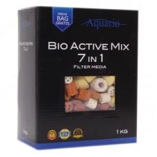 Наполнитель Aquario Bio-Active Mix 7in1 1 кг керамика 7 видов
