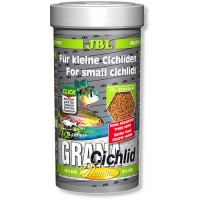 JBL GranaCichlid 250 мл премиум корм в гранулах для хищных цихлид 4056200