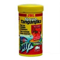 Корм JBL NovoTanganjika хлопья для хищных цихлид 250 мл 3002000