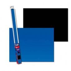 Аквариумный задний фон Aqua Nova Синий/Черный 100x50 см