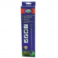 Набор Aqua Nova 4in1 37-44 см для чистки аквариума
