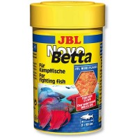 Корм JBL Novo Betta хлопья для рыб петушков 100 мл 30171