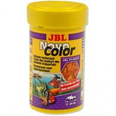 Корм JBL Novo Color хлопья для усиления окраски рыб 100 мл 30156