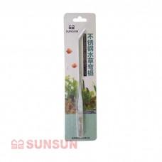 Пинцет изогнутый SunSun SC-08 металлический 38 см