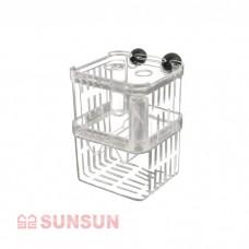 Отсадник SunSun SX-14 прозрачный пластиковый 10x7x13 см