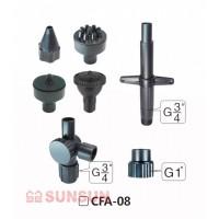 Набор насадок для фонтана SunSun CFA 08