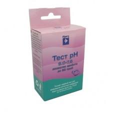 Ptero Тест pH 6.0-7.6 - тест на Кислотность воды