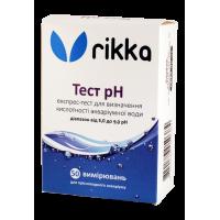 Rikka Тест pH 5.0-9.0 - тест на Кислотность воды