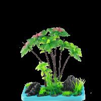 Искусственное растение SunSun FZ 105 для аквариума