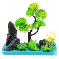 Искусственное растение SunSun FZ 106 для аквариума